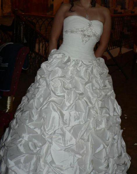 свадебное платье, р-р. 44-46