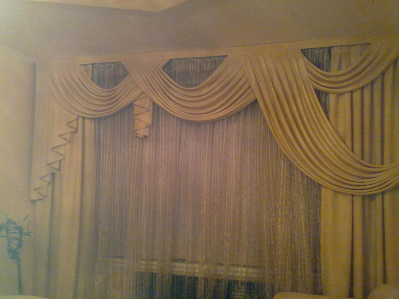 Красивые шторы в зал шторы