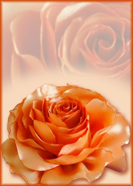 Мягкая роза (для примера)