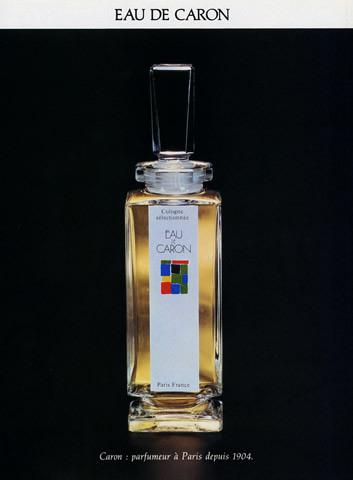 Парфюм дня - Eau de Caron, винтажный колонь