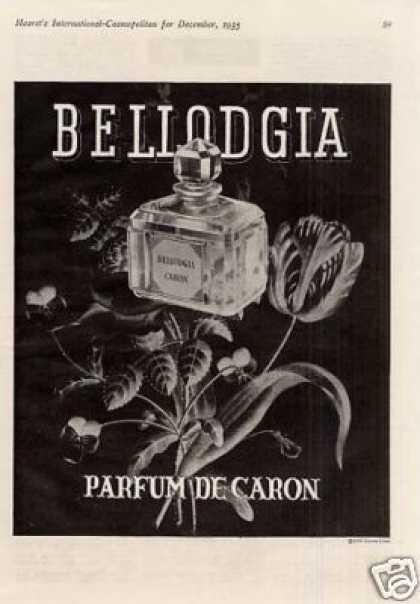 Парфюм дня - Bellodgia Caron