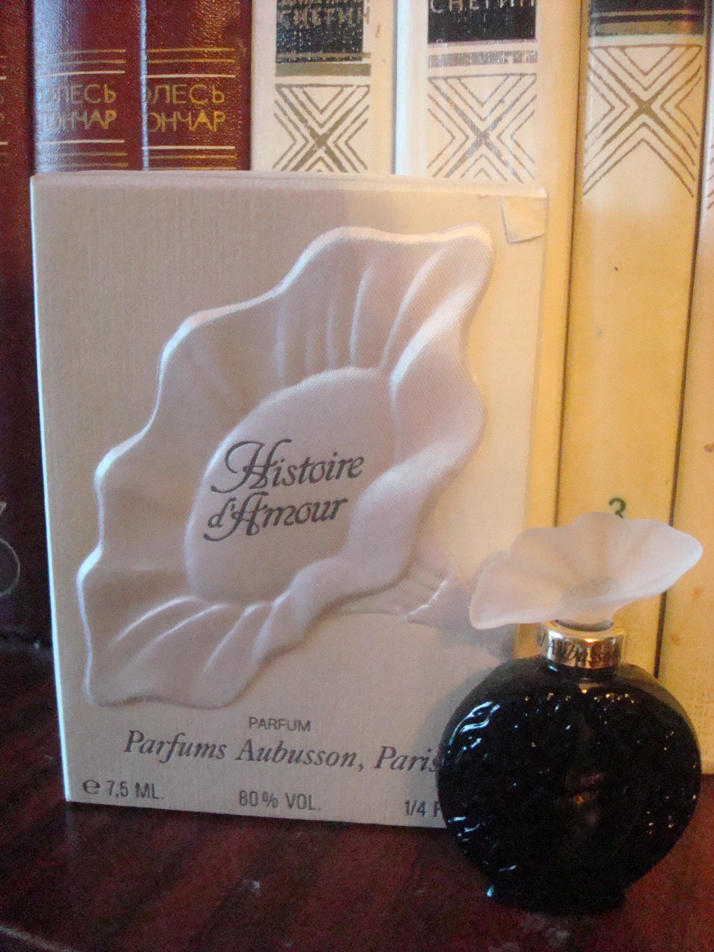 Парфюм дня - старенькие духи Histoire D`Amour Aubusson