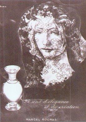 Парфюм дня - Femme Rochas, винтажный колонь в газовом спрее