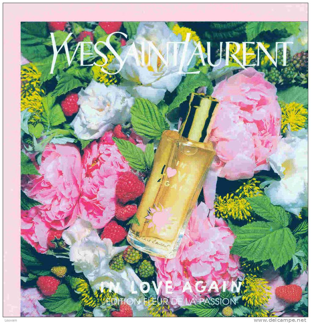 Парфюм дня - In Love Again Edition Fleur De La Passion Yves Saint Laurent