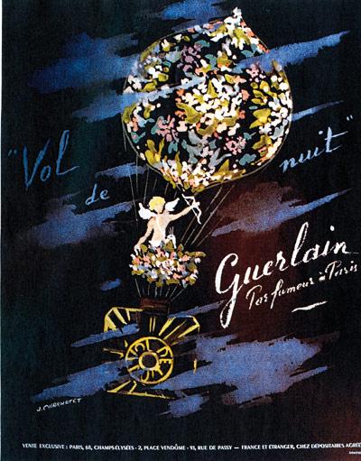 Парфюм дня - Vol de Nuit Guerlain, винтажный колонь