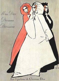 Парфюм дня - Miss Dior, винтажная туалетка в газовом спрее
