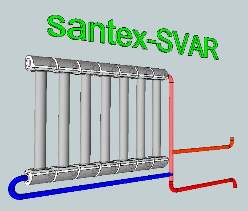 универсальная схема подключения радиаторов отопления