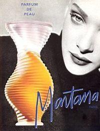 Парфюм дня - Parfum de Peau Montana, винтажная туалетка