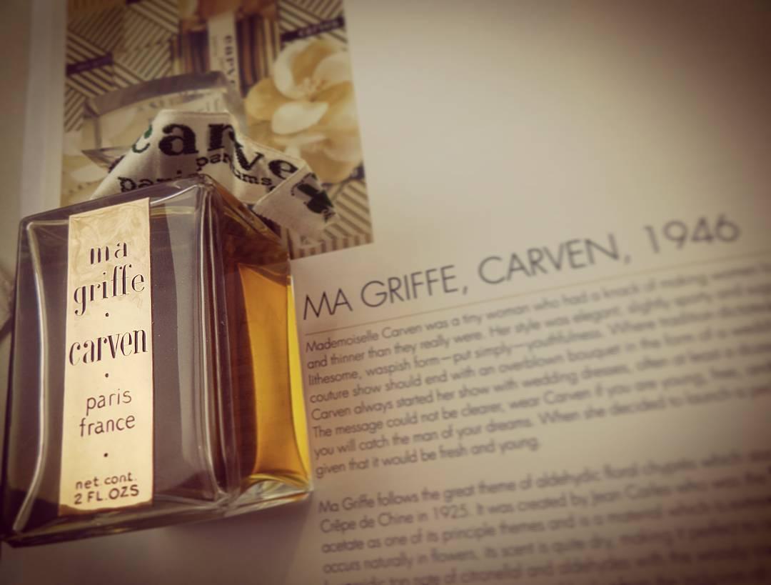 Парфюм дня -  Ma Griffe Carven, винтажные духи