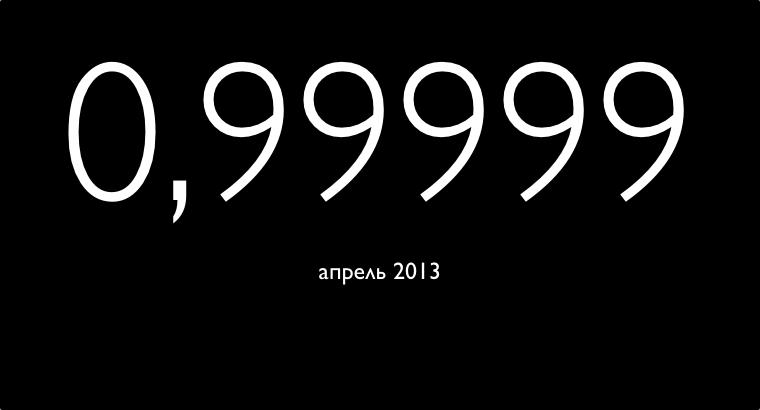 Степень доступности серверов казахстанских хостеров [апрель 2013]