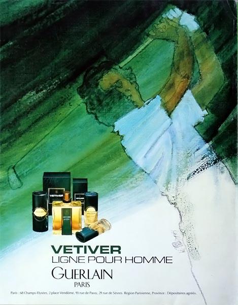 Парфюм воскресенья - Vetiver Guerlain, винтажный колонь