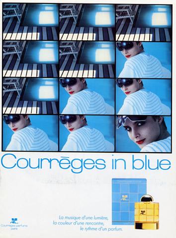Пример покупки вслепую - Courreges in Blue
