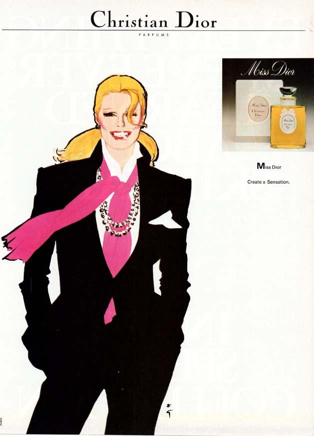 Парфюм дня - Miss Dior, духи не винтаж, но красии-и-ивые