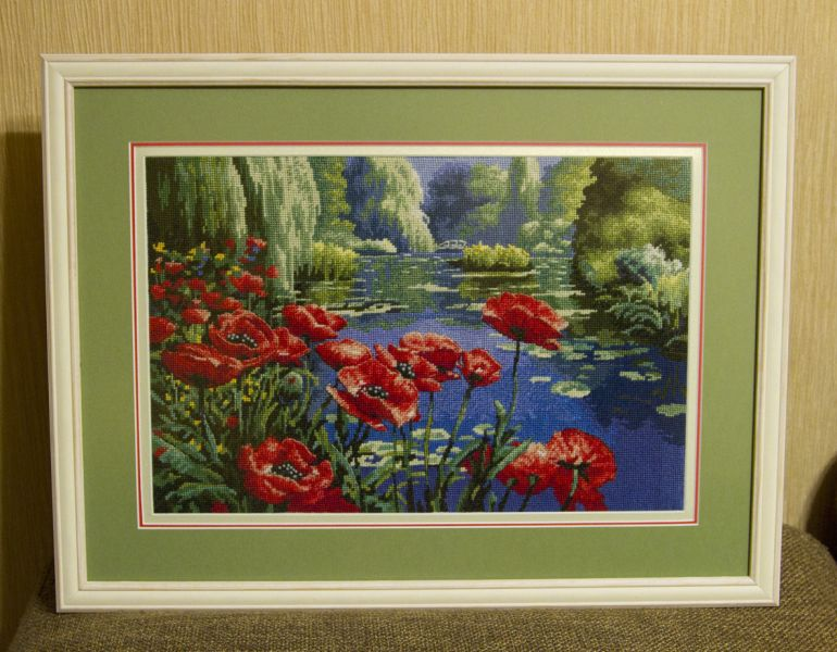 Lakeside Poppies