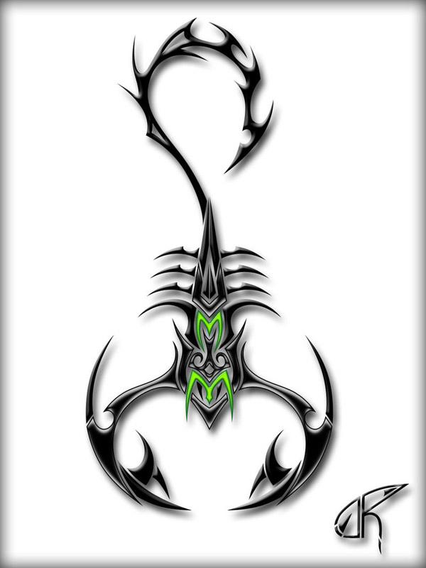 scorpion drawings 06