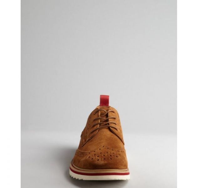 kenneth cole reaction Tan Tan suede laceup never Too hype oxford product 4 12677149 817042027