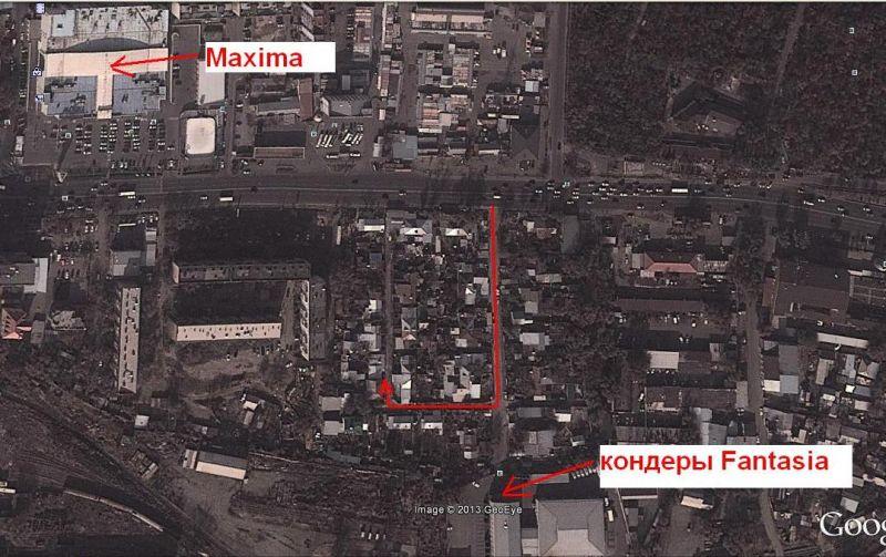 Схема проезда к Сагату