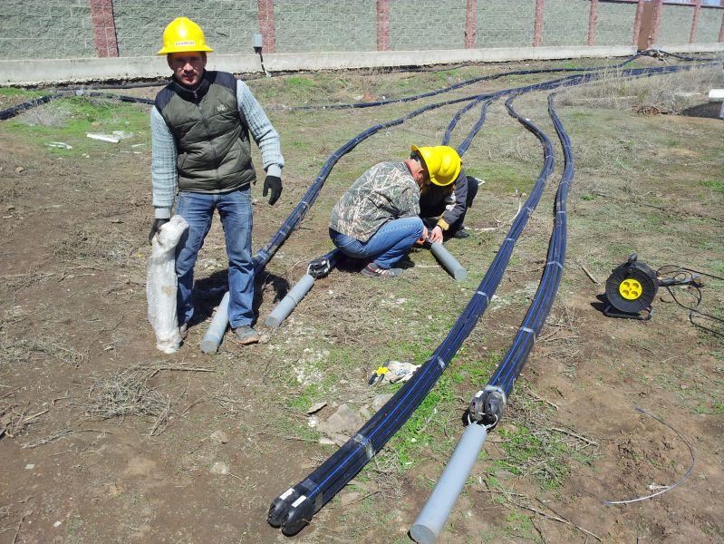 Утяжелители на геотермальные зонды