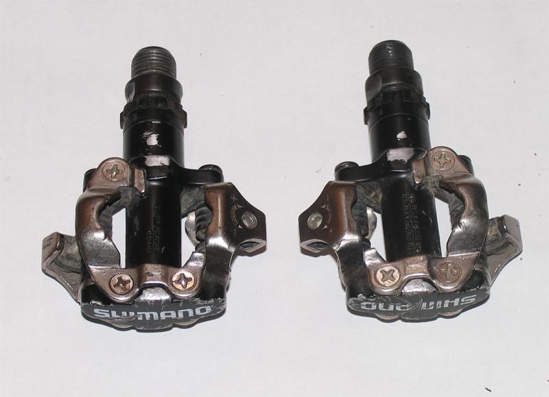 Контактные педали Shimano m520