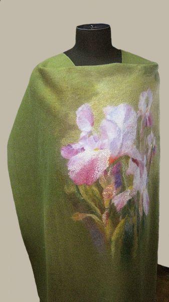 "По мотивам Marianne Broome.Купоны для пошива платья ""Ирисы""."