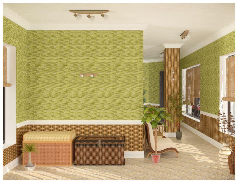 кабинет и зимний сад0012