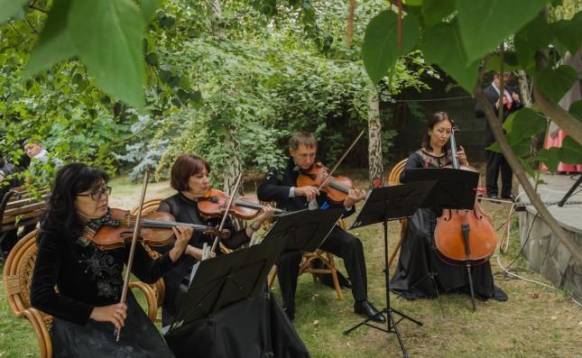скрипичный оркестр на свадьбу