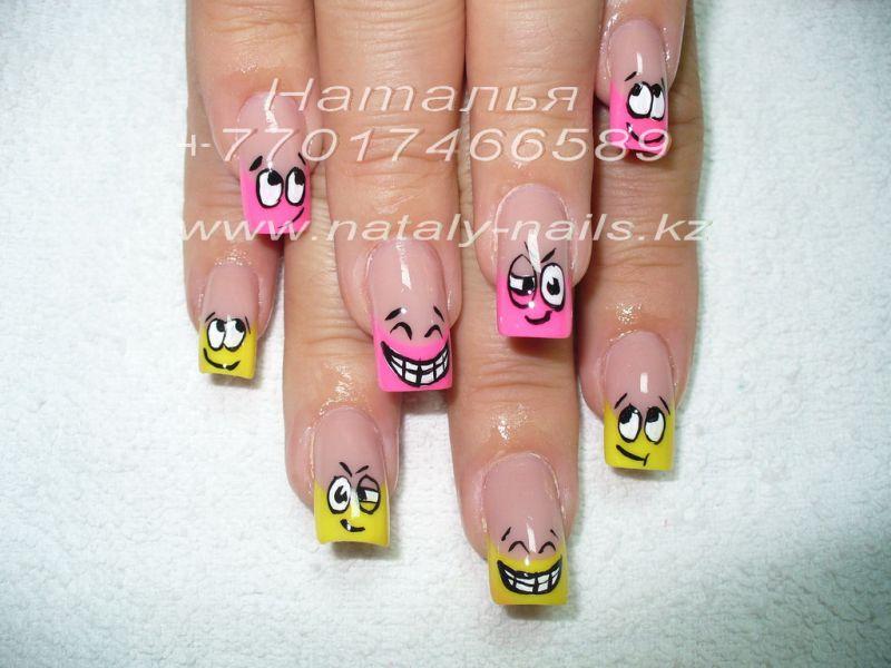 Смайлики на ногтях фото, бесплатные ...: pictures11.ru/smajliki-na-nogtyah-foto.html