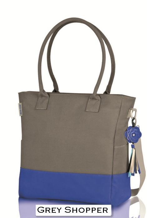 Grey Shopper Bag