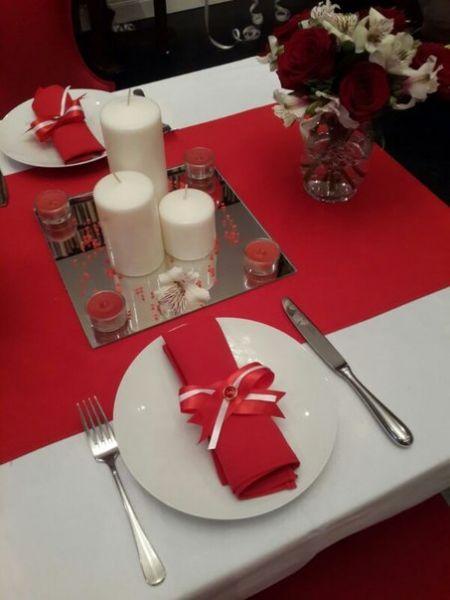Романтический ужин в День Святого Валентина