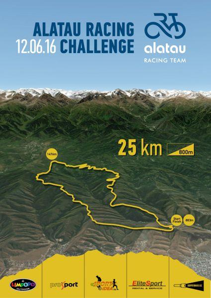 ALATAU Racing chellenge poster