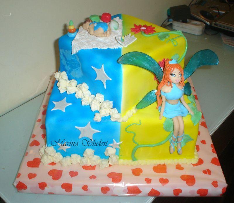 торт для малыша и девочки