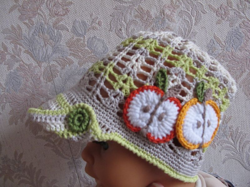 шапочки вязаные летние для мальчиков