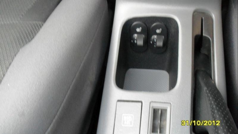 RVR- управление подогревом сидений.