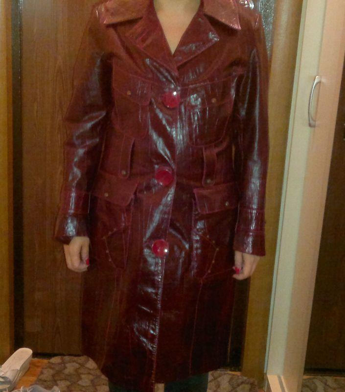 пальто кожа 2