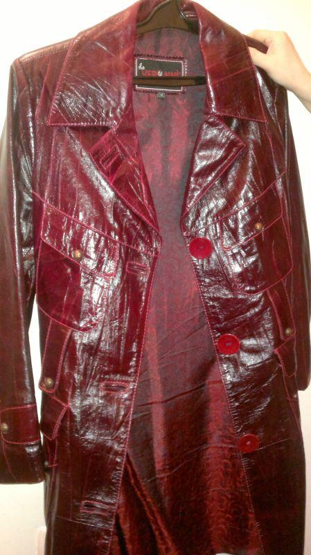 пальто кожа 3