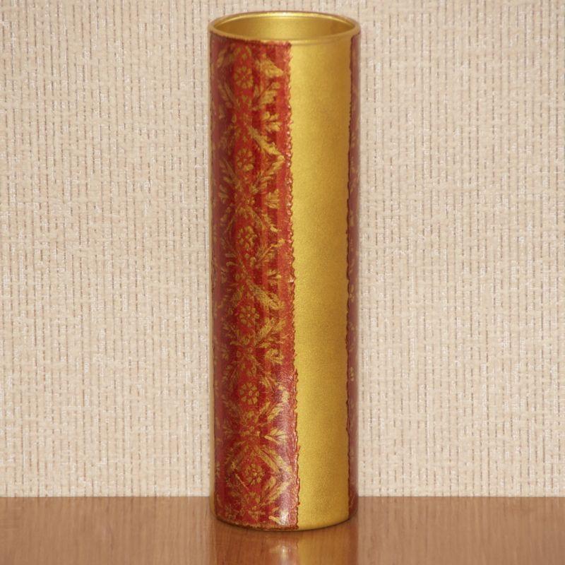 Золотистая цилиндрическая