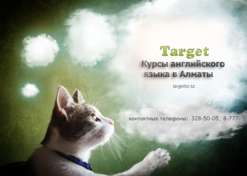 Курсы английского языка Target в Алматы