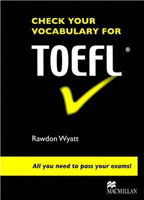 0524220  Книга для подготовки к экзамену Toefl