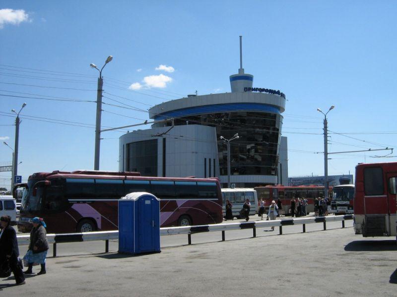 Вокзал в Челябинске