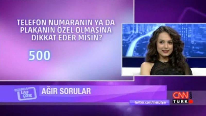 Başak Akbay в Burada Laf Çok - 24.04.2013