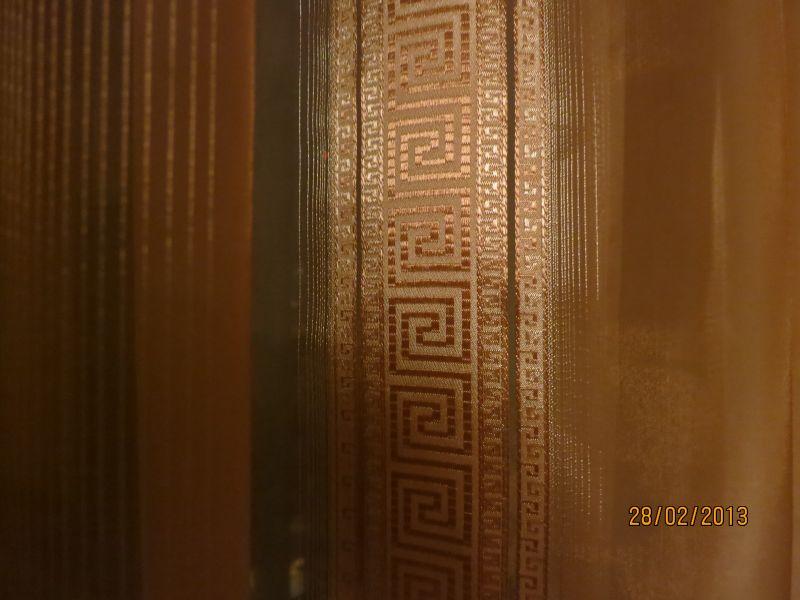 Тюль, модель Версаче