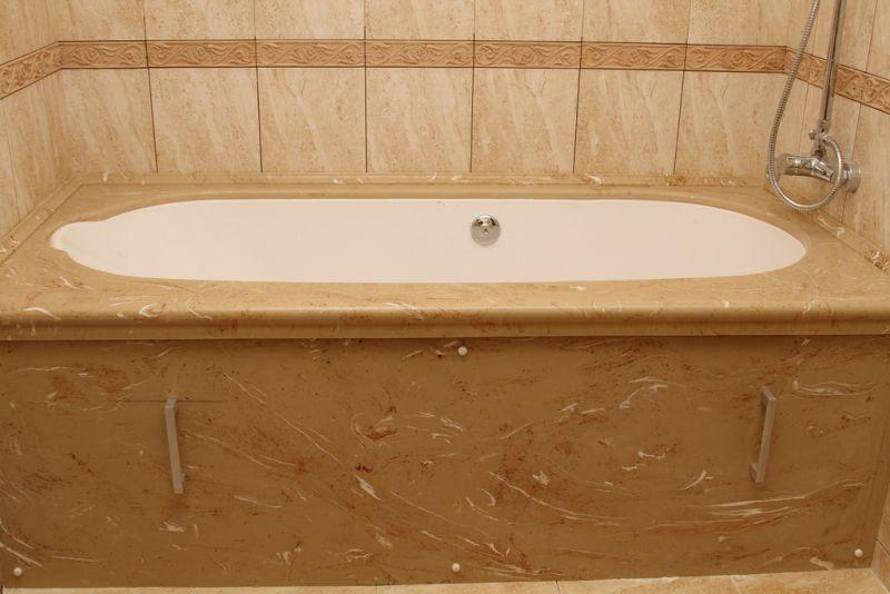 Искусственный камень отделка ванной