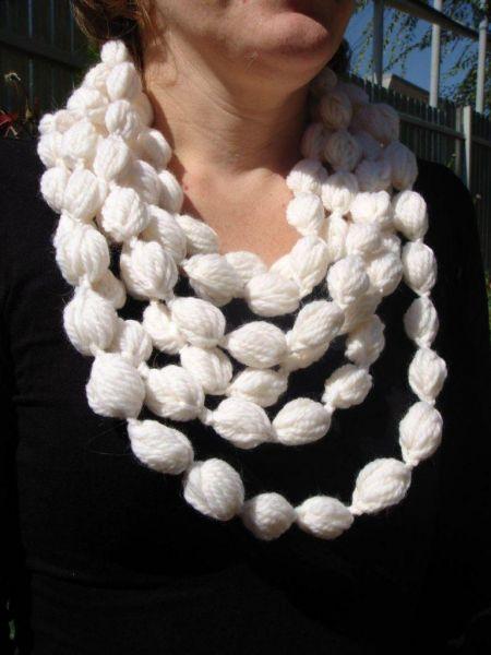 Декоративный шарфик