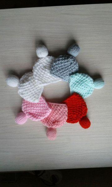 Шапочки для интерьерных кукол