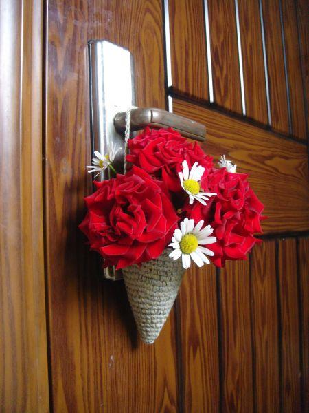 Рожок для цветов