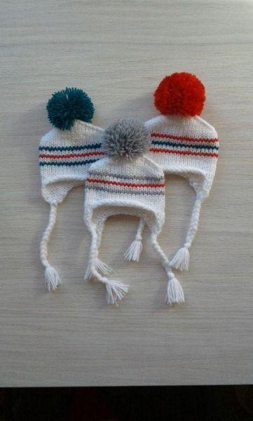 шапченки для куклен