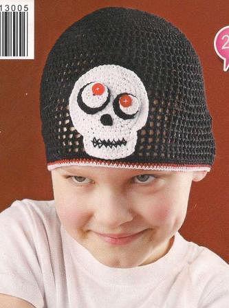 шапка череп
