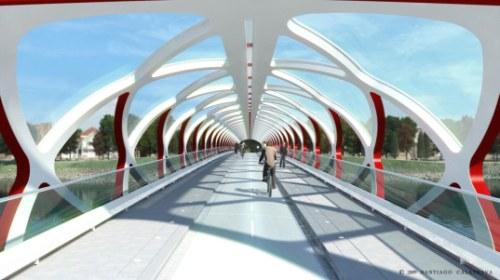 16227575 santiago calatrava calgary peace bridge