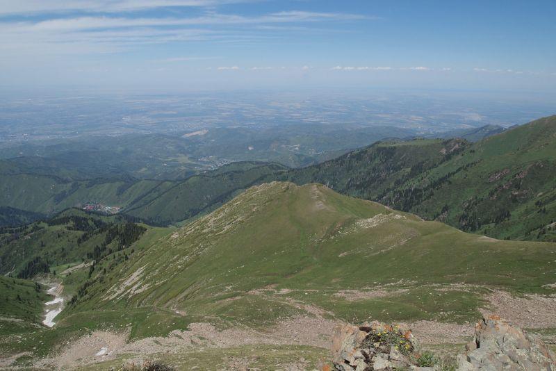 Вид с Панорамы на Фурмановку