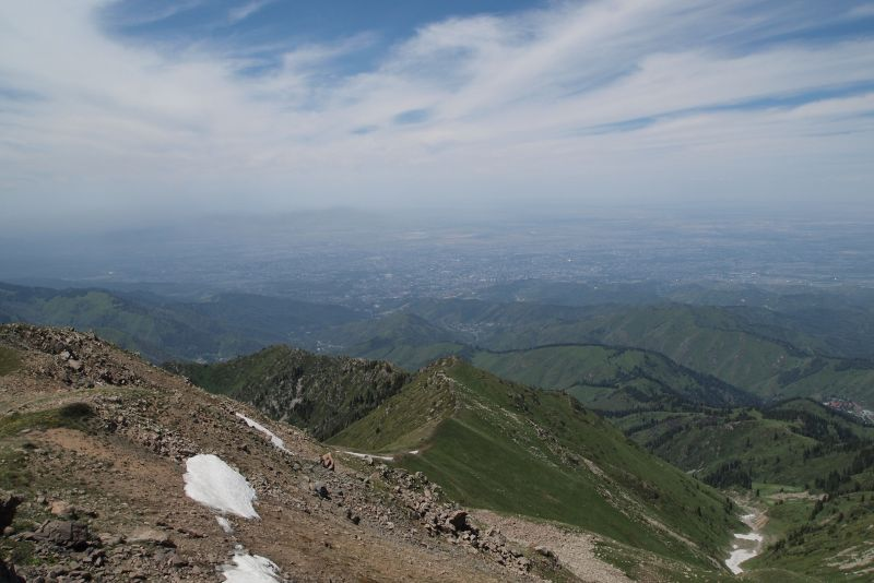 Вид с Панорамы левее Фурмановки